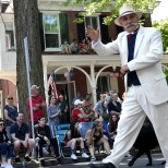 Henry Mercer at Doylestown Memorial Parade